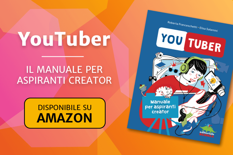 YouTuber – Manuale per aspiranti creator – Disponibile su Amazon