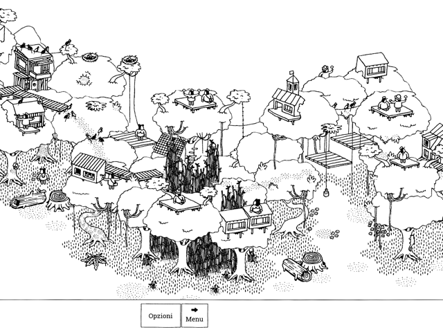 hidden folks per perdersi in una foresta