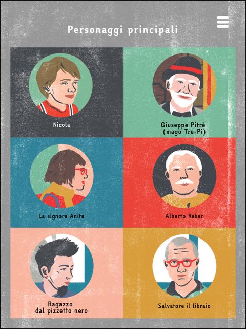 il mago Tre-Pi libro digitale anche per dislessici