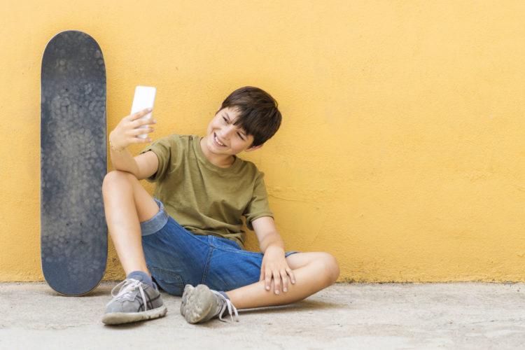 selfie e adolescenti