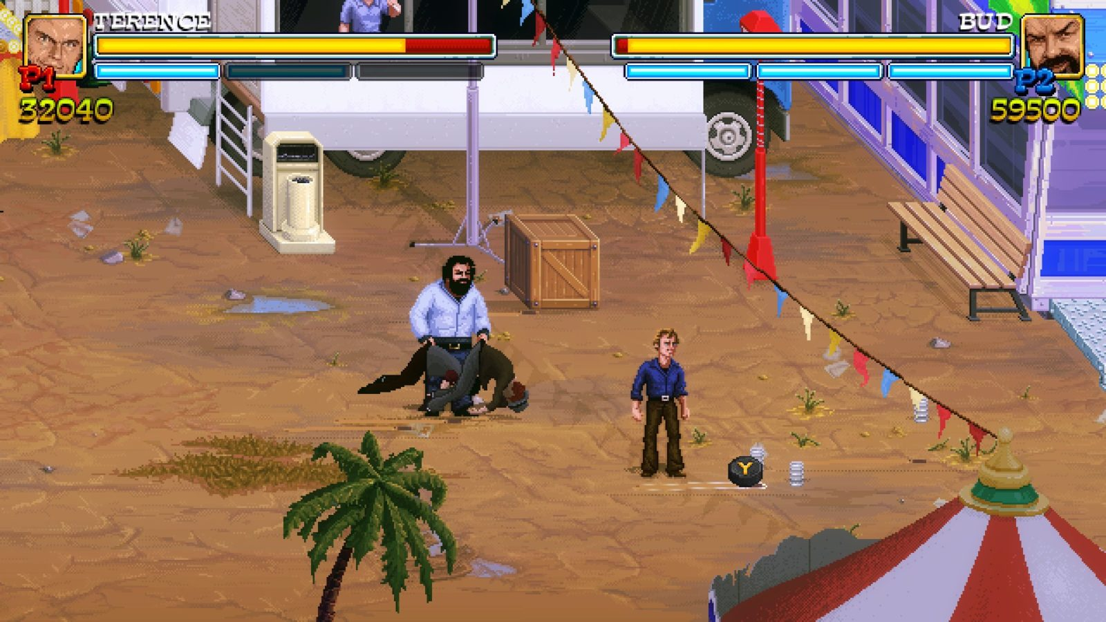 Slaps and Beans, il videogioco di Bud Spencer e Terence Hill