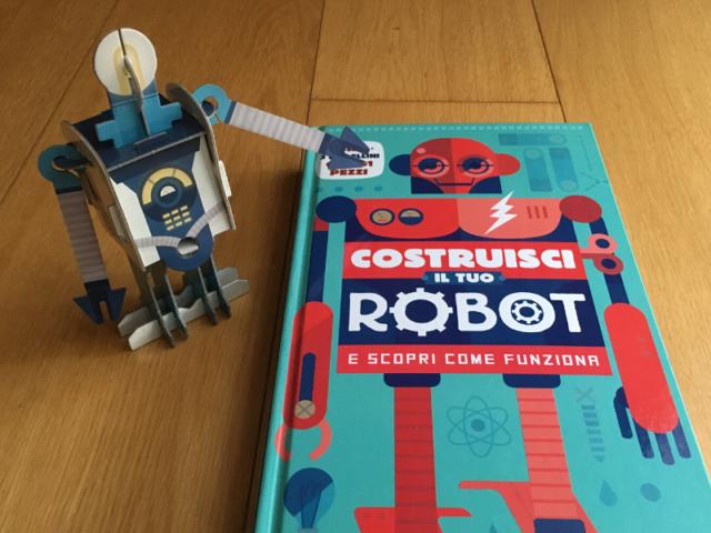 costruisci il tuo robot editoriale scienza